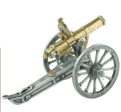 Model 1883 Gatling Gun with Operating Hand Crank & Removable Magazine