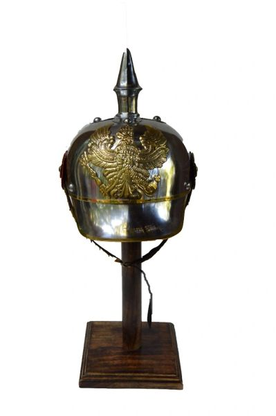 Reproduction Prussian Cuirassiers Metal Pickelhaube c. 1842-1918