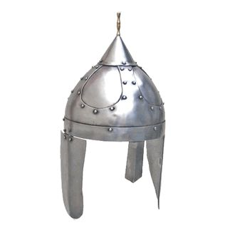 Medieval Celtic Steel Armor Wearable Replica Helmet