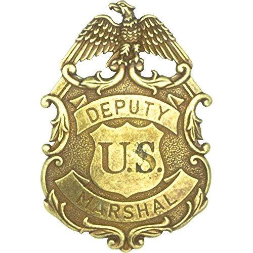 Deputy United States Marshal Eagle Badge by Denix - Brass