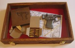 Display Case for Liberator Pistol