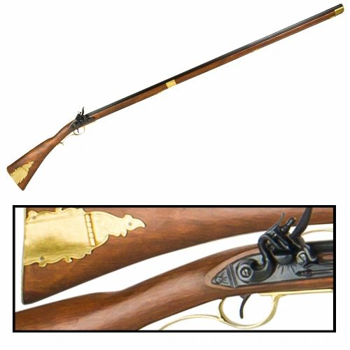 Revolutionary War Kentucky (Extra) Long Rifle by Denix
