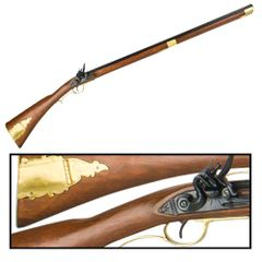 Revolutionary War Kentucky Rifle by Denix