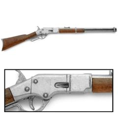"Miniature 14"" Long M1866 Lever Action Rifle"