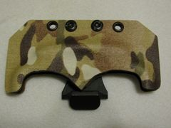 Multicam Kydex Sheath with Belt Clip