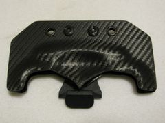 Carbon Fiber Kydex Sheath with Belt Clip