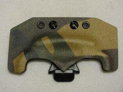 Woodland Camo Kydex Sheath with Belt Clip