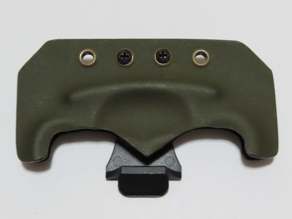 Olive Drab Kydex Sheath with Belt Clip