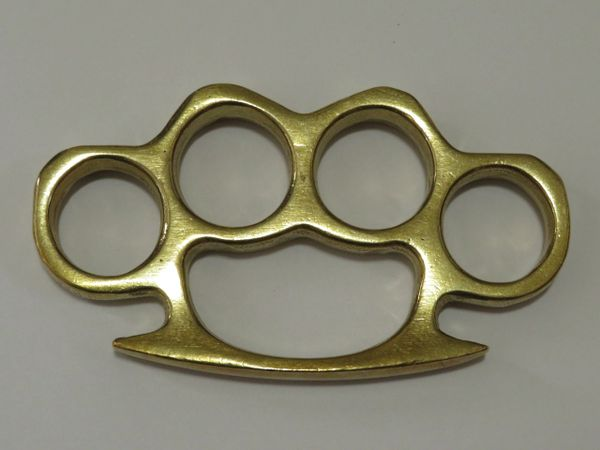 Real Deal Solid Brass Knuckles