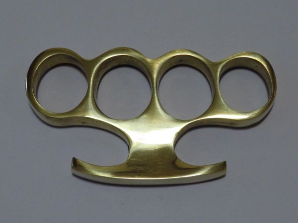 Old School Series Solid Brass Knuckles - Style 3