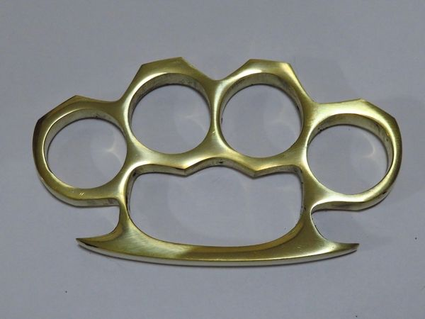 Real Deal Solid Brass Knuckles - XL