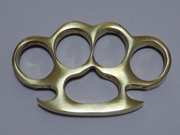 Old School Series Solid Brass Knuckles - Style 1