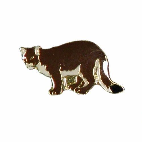 COUGAR WILDLIFE ANIMAL METAL LAPEL PIN BADGE .. NEW