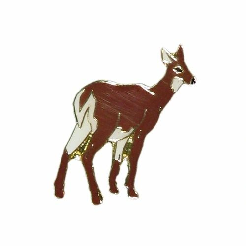 DEER WILDLIFE ANIMAL METAL LAPEL PIN BADGE .. NEW
