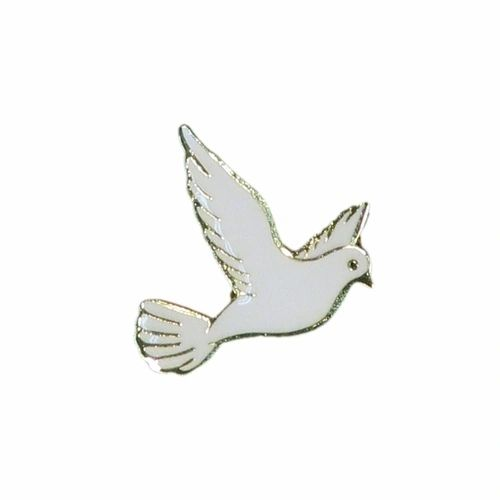 DOVE WILDLIFE ANIMAL METAL LAPEL PIN BADGE .. NEW