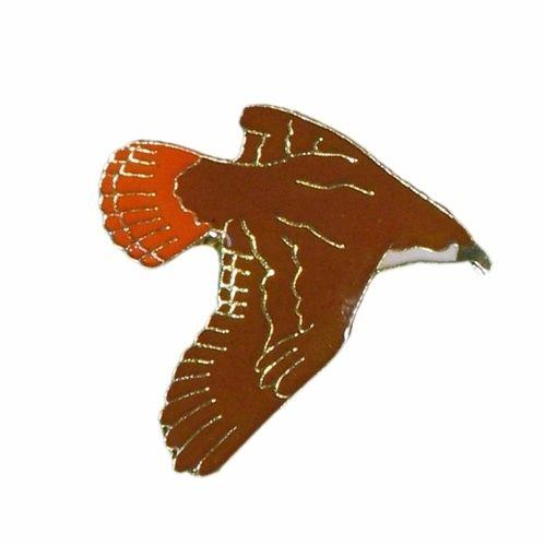HAWK WILDLIFE ANIMAL METAL LAPEL PIN BADGE .. NEW