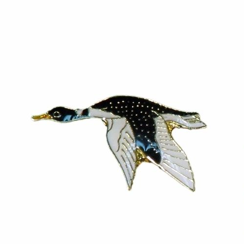 LOON WILDLIFE ANIMAL METAL LAPEL PIN BADGE .. NEW