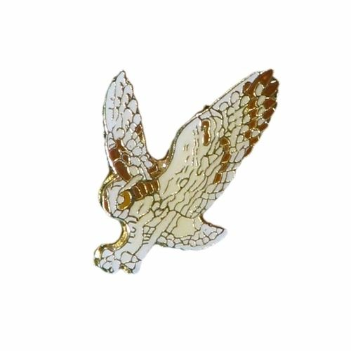 OWL WILDLIFE ANIMAL METAL LAPEL PIN BADGE .. NEW
