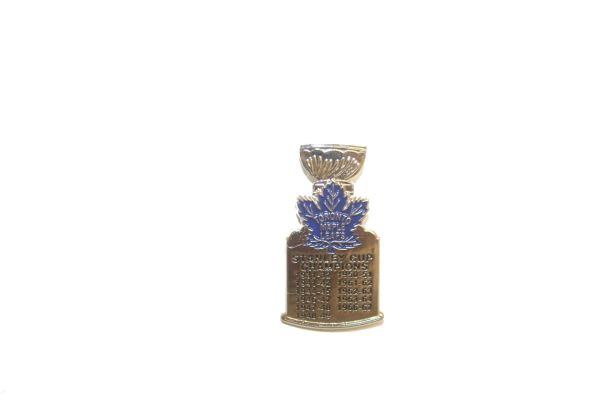 TORONTO MAPLE LEAFS NHL STANLEY CUP CHAMPIONS METAL LAPEL PIN BADGE .. NEW