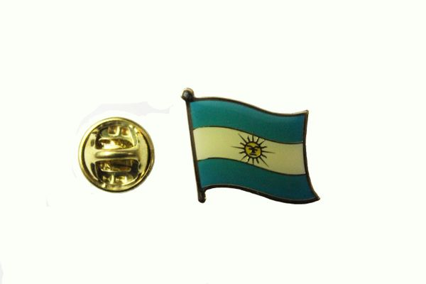 ARGENTINA NATIONAL COUNTRY FLAG METAL LAPEL PIN BADGE ... 3/4 X 3/4 INCH .. NEW