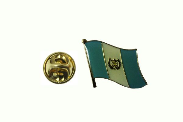 GUATEMALA NATIONAL COUNTRY FLAG METAL LAPEL PIN BADGE ... 3/4 X 3/4 INCH .. NEW