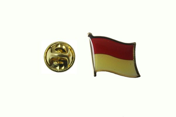 INDONESIA NATIONAL COUNTRY FLAG METAL LAPEL PIN BADGE .. 3/4 X 3/4 INCH .. NEW