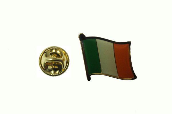 IRELAND IRISH NATIONAL COUNTRY FLAG METAL LAPEL PIN BADGE .. 3/4 X 3/4 INCH .... NEW