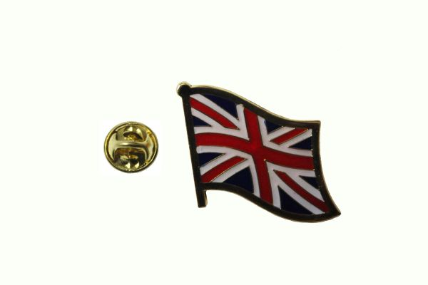 UNITED KINGDOM UK NATIONAL COUNTRY FLAG METAL LAPEL PIN BADGE .. 3/4 X 3/4 INCH .. NEW