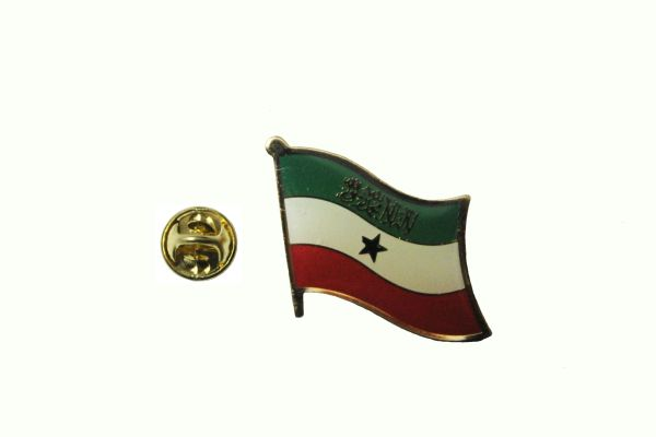 SOMALILAND NATIONAL COUNTRY FLAG METAL LAPEL PIN BADGE .. 3/4 X 3/4 INCH .. NEW