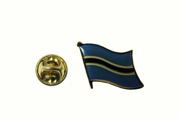 BOTSWANA NATIONAL COUNTRY FLAG LAPEL PIN BADGE
