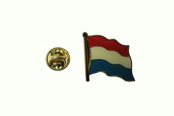 LUXEMBOURG NATIONAL COUNTRY FLAG LAPEL PIN BADGE
