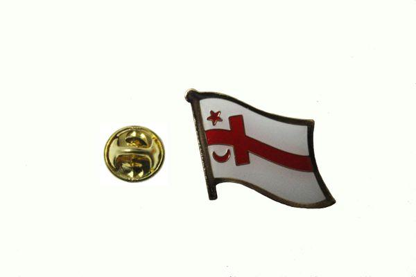 MI' KMAQ FLAG LAPEL PIN BADGE