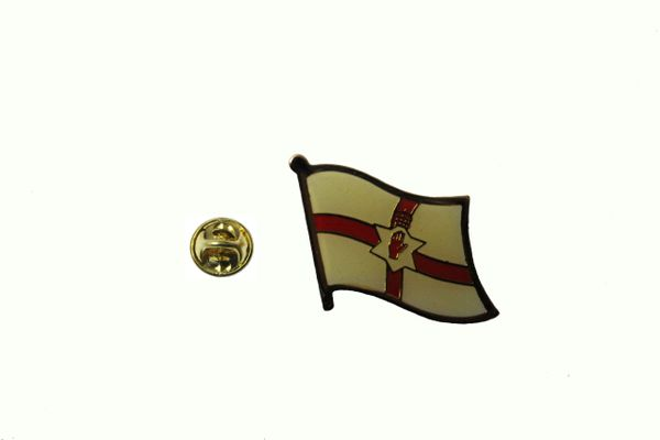 NORTHERN IRELAND NATIONAL COUNTRY FLAG LAPEL PIN BADGE