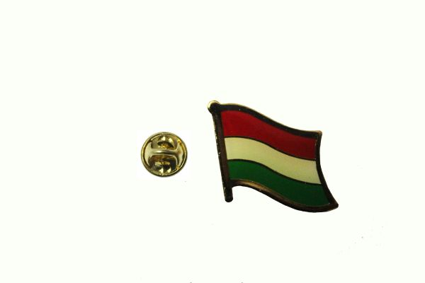 HUNGARY Plain NATIONAL COUNTRY FLAG LAPEL PIN BADGE