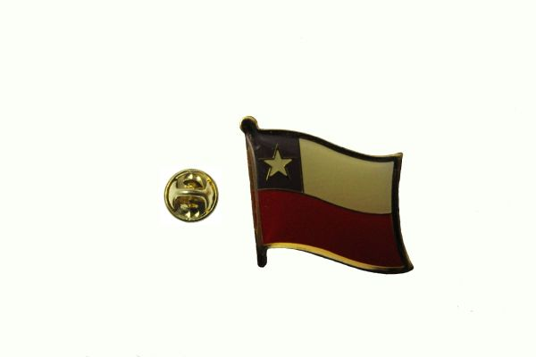 CHILE NATIONAL COUNTRY FLAG LAPEL PIN BADGE