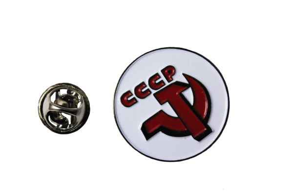USSR CCCP Logo METAL LAPEL PIN BADGE