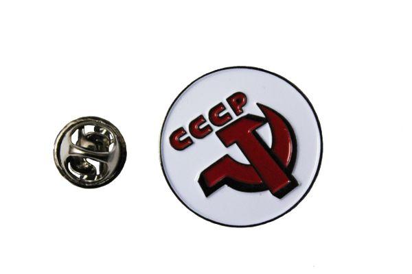 USSR CCCP Logo METAL LAPEL PIN BADGE