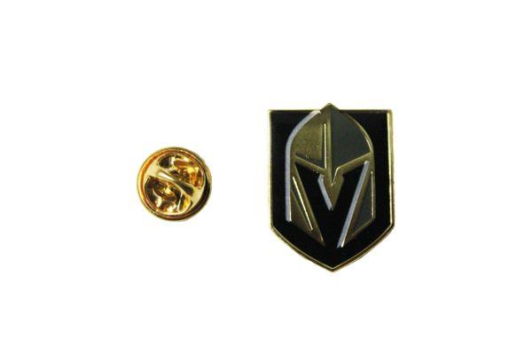 "VEGAS GOLDEN KNIGHTS NHL Hockey Logo 0.75"" x 1"" Inch METAL LAPEL PIN BADGE"