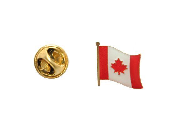 CANADA Country Flag SMALL Metal LAPEL PIN BADGE