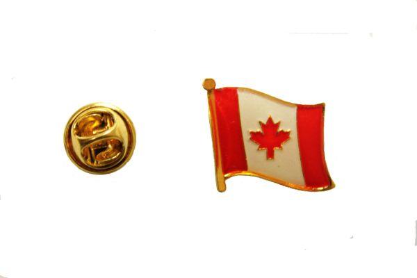 CANADA Country Flag Metal LAPEL PIN BADGE