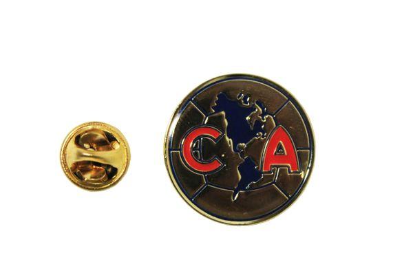 "CLUB AMERICA Football Club Logo ( Mexico ) LAPEL PIN BADGE .. Round : 1"" Inch"