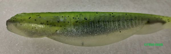 "Baby Swayback Swimmer 3.25"" - Citrus Shad #39"