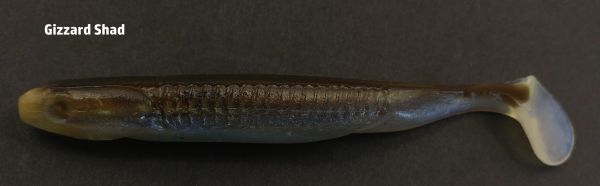 "Swayback Swimmer 4.25"" - Gizzard Shad #09"