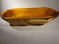 Large Yew wood bowl