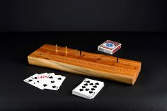 Yew Wood Cribbage Boards