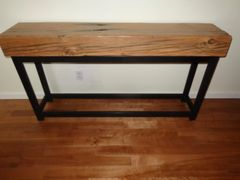 Reclaimed Douglas Fir Beam Console table Sold