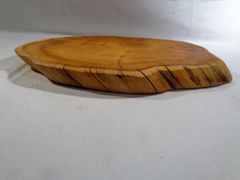 Yew Wood Serving Board