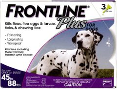Frontline Plus Dog Large