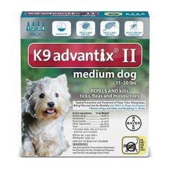 Advantix II Dog Medium 11-20#