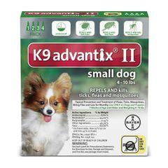 Advantix II Dog Small Under 10#
